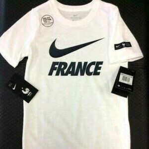 Brand New! Boys Nike France Preseason T-Shirt